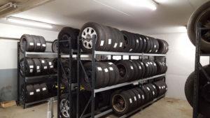 byrgesen auto har mange dæk, dækcenter